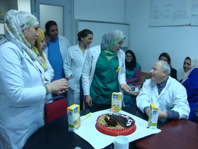 ''Tous nos vœux sont sincère… '' Joyeux anniversaire Mme Raoudha.