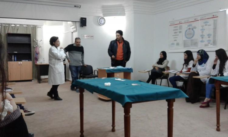 Dernière séance du thème atelier Suture.