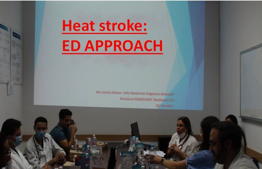 Formation: Heat stroke ED approach