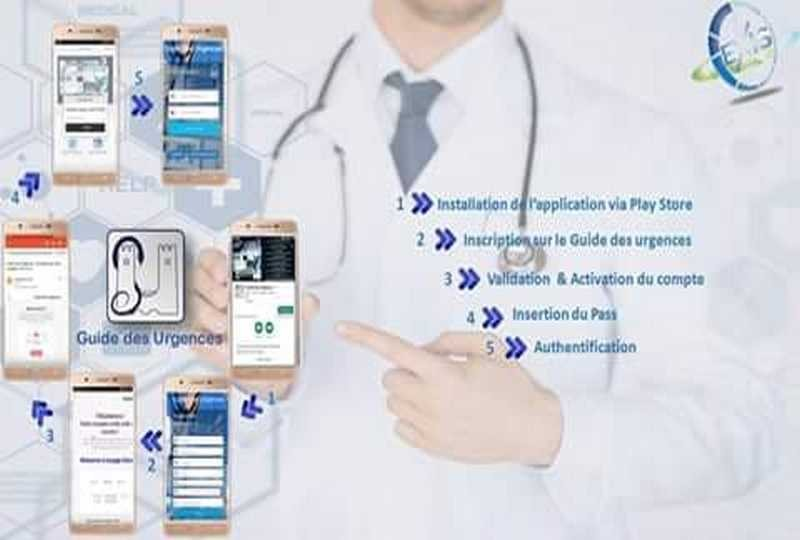 Enfin... Notre guide des urgences en application smartphone... Sur Google play...