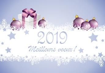 Meilleurs voeux et bonne année 2019