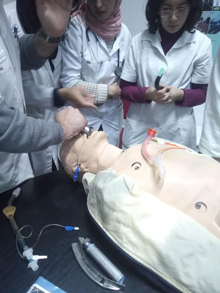 Atelier intubation difficile