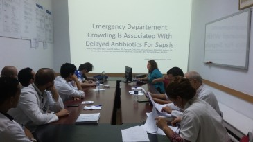 Emergency Department Crowding Is Associated with Delayed Antibiotics For Sepsis