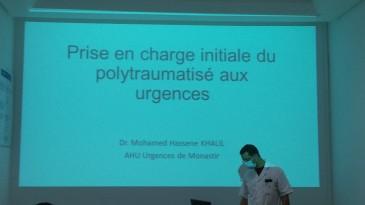 Prise en charge initiale du polytraumatisé aux urgences